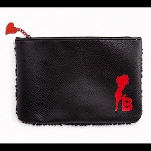 New! Larger size Betty Boop Makeup Bag